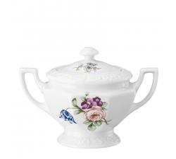 Cukiernica-porcelanowa-dla-6-osób-Maria-Flowers-Rosenthal