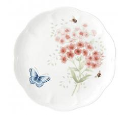 Talerz-deserowy-Butterfly-Meadow-Ptaki-red-bird-lenox
