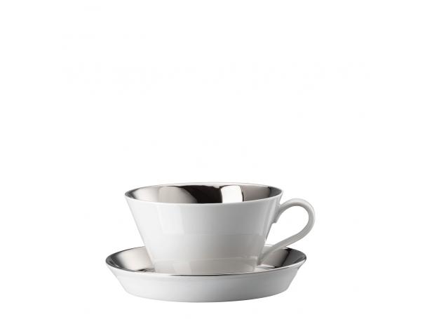 Filiżanka cafe au lait Tric Silver