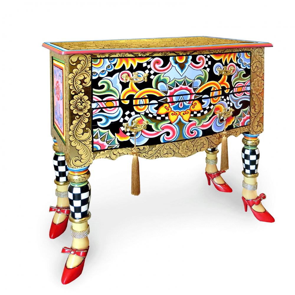 Toms Drag Komoda Versailles Gold 80 cm