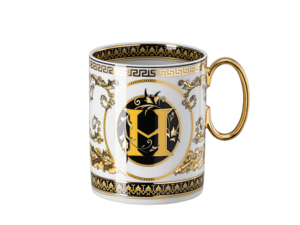 Kubek H Versace Virtus Alphabet