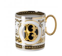 Rosenthal-Versace-Virtus-Alphabet-kubek-porcelanowy-B