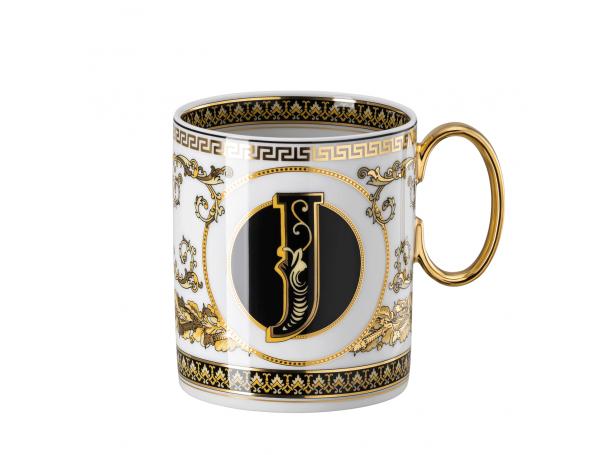 Kubek J Versace Virtus Alphabet