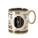 Rosenthal-Versace-Virtus-Alphabet-kubek-porcelanowy-J