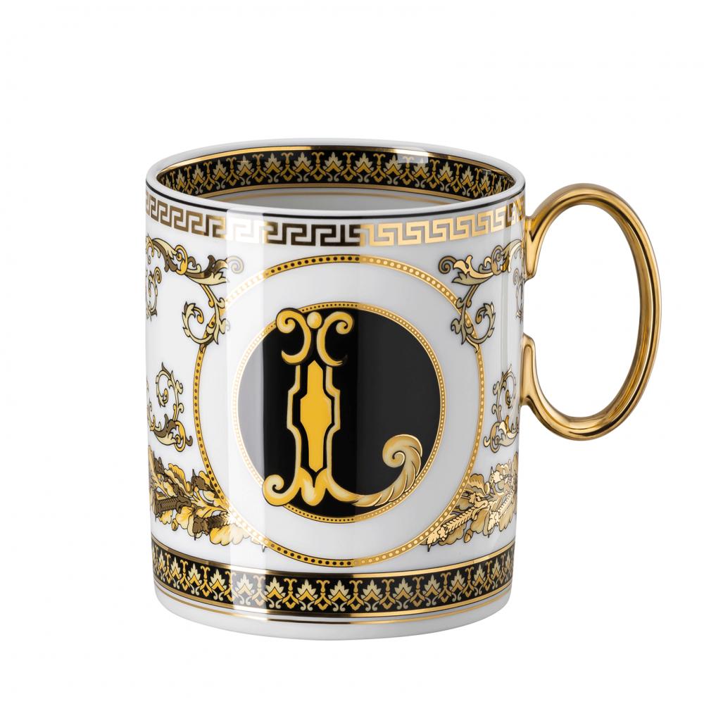 Rosenthal-Versace-Virtus-Alphabet-kubek-porcelanowy-L