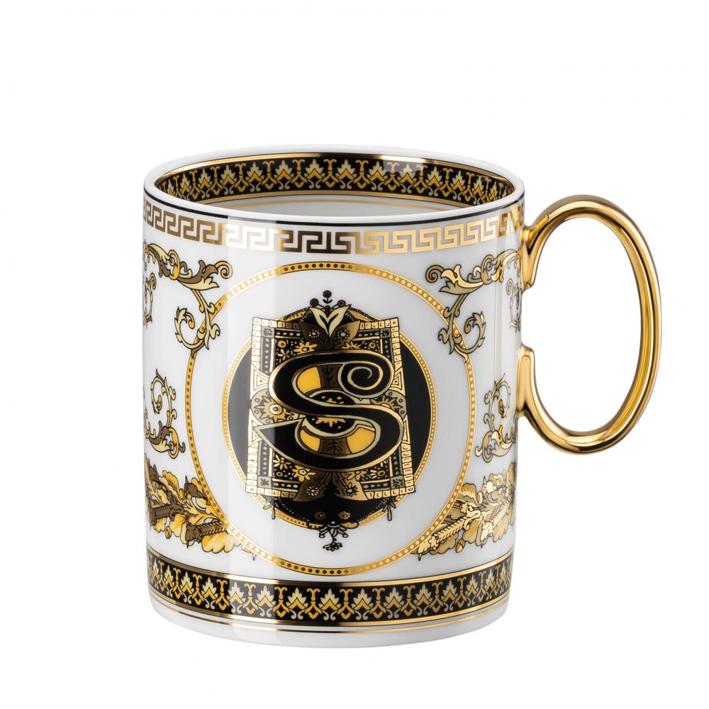 Rosenthal-Versace-Virtus-Alphabet-kubek-porcelanowy-S
