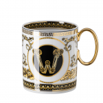 Rosenthal-Versace-Virtus-Alphabet-kubek-porcelanowy-W