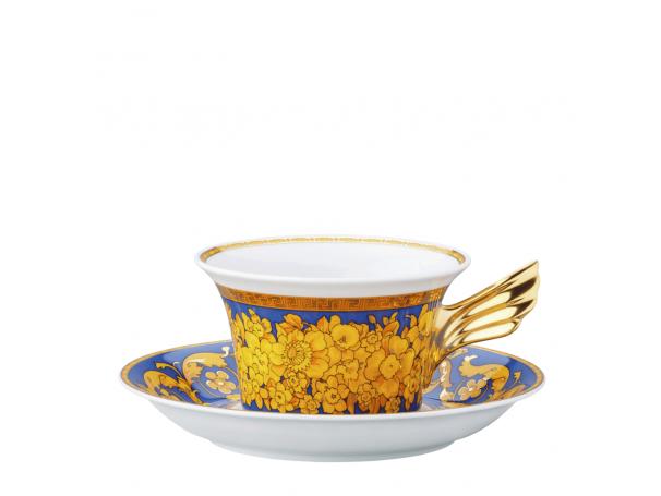 Filiżanka do herbaty Versace Floralia Blue - Edycja Limitowana