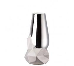 Wazon-27-cm-Geode-Srebrny-Rosenthal