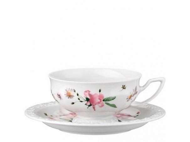 Filiżanka-porcelanowa-do-herbaty-maria-róża-rosenthal