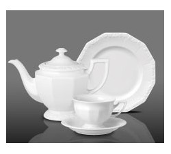 Serwis-porcelanowy-do-herbaty-dla-6-osób-Maria-Biała-Rosenthal