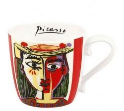 Picasso-Kobieta-w-kapeluszu-kubek-porcelanowy-konitz