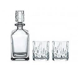 Shu Fa-Zestaw-3-częściowy-do-whisky-karafka-2-szklanki-nachtmann