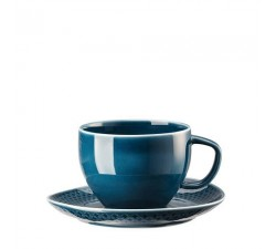 Filiżanka-kombi-Junto-ocean-blue-Rosenthal
