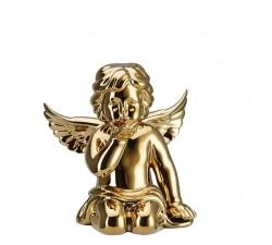 anioł-średni-dmuchający-złoty-rosenthal
