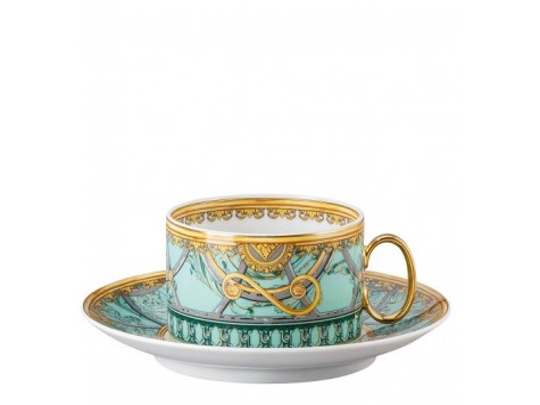 Filiżanka do herbaty Versace Scala Palazzo Verde