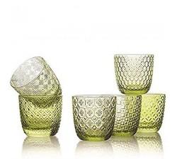 Sixties-zestaw-6-szklanek-zielony-ivv