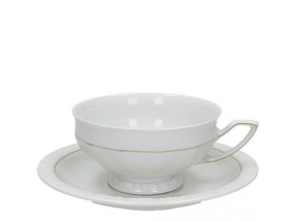 Filiżanka-porcelanowa-do-herbaty-maria-goldlinie-Rosenthal