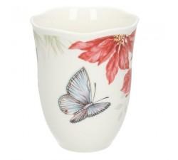 Kubek-Blue-Butterfly-Butterfly-Meadow-Holiday-Lenox-tył