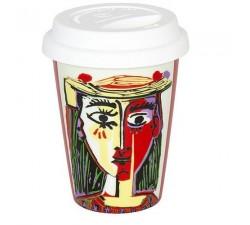 Picasso - Kobieta-w-kapeluszu-kubek-termiczny-Konitz