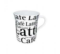 Kubek-porcelanowy-Caffe-Latte-biały-Konitz