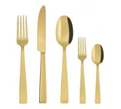 Zestaw-sztućców-FLAT-Złoty-Kaseta-30-części-sambonet