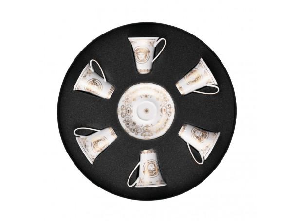 Zestaw filiżanek do espresso Versace Medusa Gala