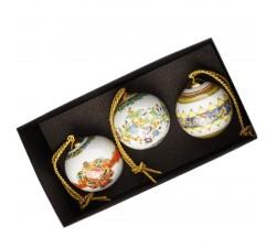 Versace zestaw 3 bombek Le Roi Soleil-Gold Ivy-Russian Dream