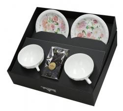 Zestaw-dwóch-filiżanek-porcelanowych-z-herbatą-maria-róża-rosenthal
