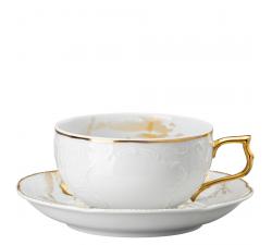Filiżanka-porcelanowa-do-herbaty-z-podstawką-Sanssouci-Midas-Rosenthal