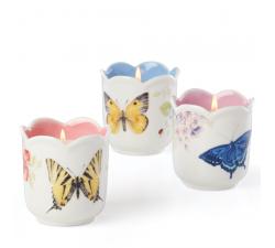 Świecznik-9,5-cm-niebieski-Butterfly-Meadow-Lenox-2