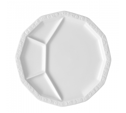 Talerz-porcelanowy-dzielony-28-cm-Maria-Biała-Rosenthal