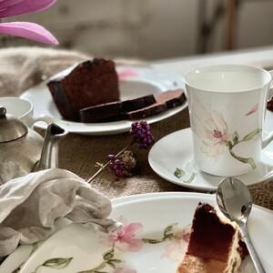 Już niedługo święta... Na czym zjemy sernik?  #jademagnolia #rosenthal #wielkanoc  #sernik #porcelana #kawa #ciasto #śniadanie