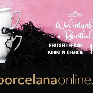 Walentynki z Rosenthal ruszyły❤️ Już dziś prawdziwa okazja dla miłośników wyjątkowej porcelany❤️ Kubki Biała Maria oraz inne w promocji 1+1 ❤️ Prawdziwa szansa aby obdarować ukochaną osobę pięknym i funkcjonalnym upominkiem❤️❤️❤️ #walentynki #prezent #rosenthal  #porcelana #porcelanaonline