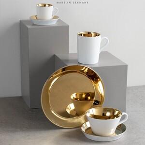 """""""..Złoto a skromne.."""" 😄 Poznaj nasze złote kolekcje ! https://tiny.pl/r2bq9 #golden #kubki #talerze #filiżanki #kawa ##zloto"""