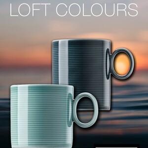 porcelanaonline Już jest! Nowa kolekcja Rosenthal Loft Colours. Dostępna w trzech kolorach. Zapraszamy na naszą stronę! #Rosenthal #thomas #loftdesign #colours #wiosnaidzie☀️ #wielkanocne #stół #filiżanki #kubki