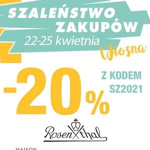 SZALEŃSTWO ZAKUPÓW TAKŻE U NAS!!!! 😃  z kodem SZ2021 rabaty -20% na marki: VERSACE, ROSENTHAL, BERGER, SAMBONET  #rosenthal, #kawa #promocja #versace #versacehome #berger #zapachy #lampyzapachowe #porcelana #komunie2021 #anioły
