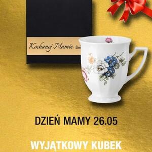 """Ostatnia szansa by zdążyć na Dzień Mamy! 😃 Kubki z wyjątkową dedykacją dla wyjątkowej Osoby!  Zamów jeden z kubków, opakowany w ekskluzywne pudełko z dedykacją """"Kochanej Mamie"""" https://porcelanaonline.pl/414-dzien-matki #prezent #dzienmamy #dlamamy❤️ #kubeknakawe #święto #rosenthal"""